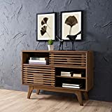 Modway EEI-2542-WAL Render, Display Stand, Walnut