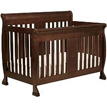 DaVinci Porter 4-In-1 Convertible Crib with Toddler Bed Conversion Kit, Espresso