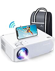 """VANKYO Performance V630W WiFi Projector, Full HD Native 1080P Projector w/ 300"""" Display, Supports 5G Synchronize Smartphone Screen & 4K, ±50° Keystone Correction, Compatible w/ TV Stick/Smartphone"""
