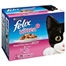 Felix Kitten Mixed Selection in Jelly Pouches - 12 x 100gm
