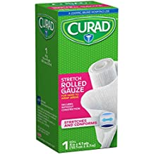 Curad Rolled Gauze, 4 Inches X 4.1 Yards
