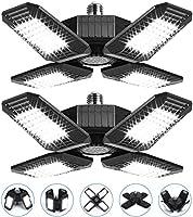 2 Pack 100W LED Garage Lights, 10000LM Garage Lights Ceiling LED, Best for Garage, Basement, E26/E27 Base, CRI 85, 6500K...