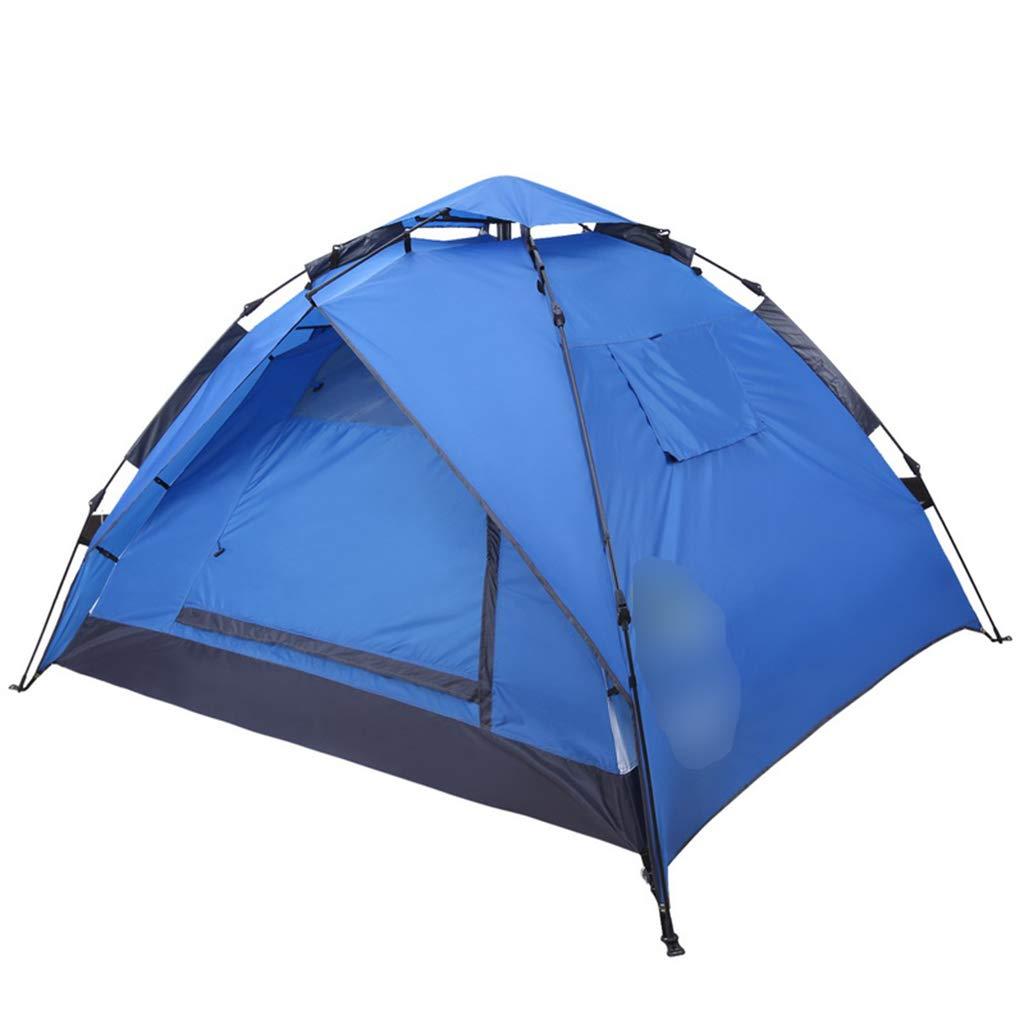 Imprägniern Zeltzelt des Zeltes des Zeltes im Freien des winddichten Zeltes des Zeltes 2 im Freien kampierendes Mehrfarbenzelt wahlweise freigestellt ( Farbe : Blau , Größe : 200180130cm )