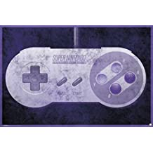 Nintendo SNES Controller Video Gaming Poster 36x24
