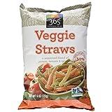 365 Everyday Value Veggie Straws, 6 oz