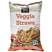 365 Everyday Value Veggie Straws, 6 oz