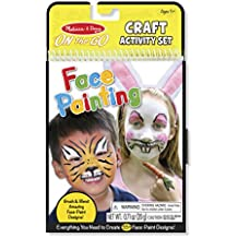 Melissa & Doug On the Go Face Painting Craft Activity Set - 35+ Designs