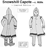 1820s Snowshill Capote Pattern