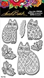 Stampendous Laurel Burch Cling Stamp and Die