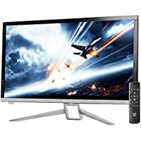 CrossLCD 27V IPS DP FREEDOM HDMI 2560X1440 WQHD 75Hz 5ms Flicker Free Metal Stand FreeSync with Remote 2016 New model