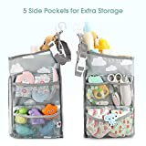 Hanging Diaper Caddy Organizer - Diaper Stacker for Changing Table, Crib, Playard or Wall & Nursery Organization Baby Shower Gifts for Newborn