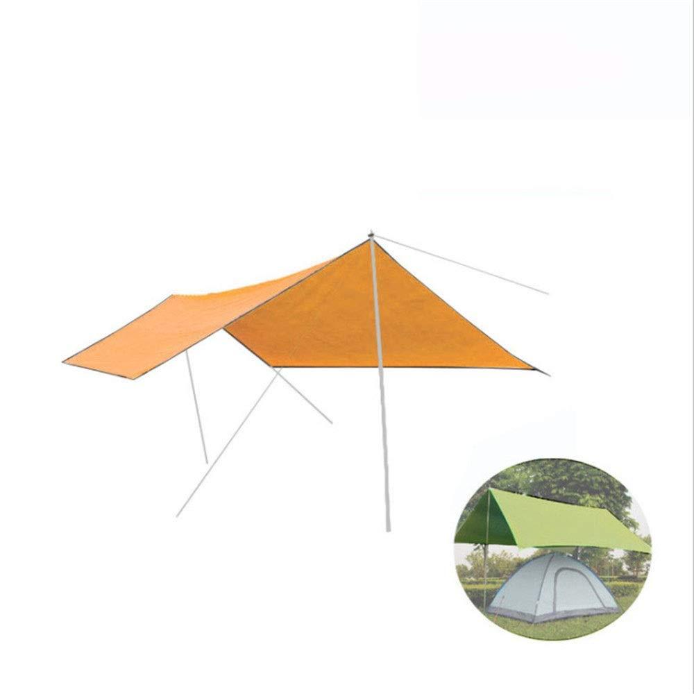 Orange 9.8x9.7 Feet Feetbilbli Tente ultralégère, imperméable, Couleur élégante, Prougeection UV, Design portable, résistance à l'usure, Produit Elite 14.6x19.7 Feet Rose