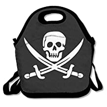 Danger Pirate Lunch Bags Lunch Tote Lunch Box Handbag For Kids And Adults