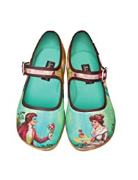 Hot Chocolate Design Chocolaticas Poesía Cortesana Women's Mary Jane Flat