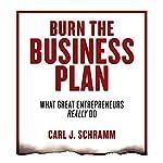 Burn the Business Plan: What Great Entrepreneurs Really Do   Carl J. Schramm