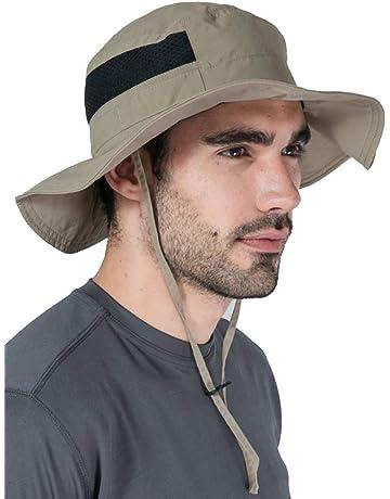 Tough Headwear Outdoor Boonie Sun Hat - UPF 50 Protection for Men   Women.  Wide 9c31561671c3