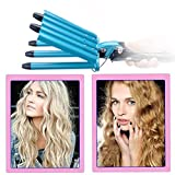 Ckeyin ®Hairstyle Tools King Size 5 Barrels Five Pipe Joint Big Hair Wave Waver Nano Titanium Ceramic Curler Curl Curling Irons
