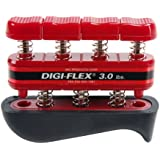 Cando Digi-Flex Hand and Finger Exercise System Red, 3 lbs Resistance