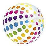 "Intex - Jumbo Glossy Panel Ball - Stripes or Dots, Styles May Vary 42"""