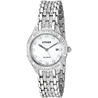 Citizen Women's Eco-Drive Watch with Crystal Accents, EW2320-55A