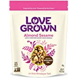Love Grown Almond Sesame Granola, 9oz. Bag, 6-pack
