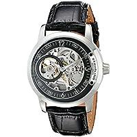 Men's 837.02 Delphi Automatic Skeleton Black Dial Watch