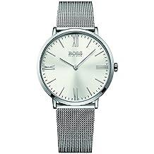 Hugo Boss Men's 40mm Steel Bracelet & Case Quartz Silver-Tone Dial Analog Watch 1513459