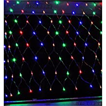 NETLT Led Net light,Christmas Lights String,Fairy Nets light,120light Bead,Curtain Decoration