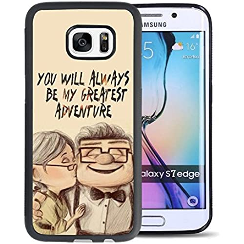Up House Samsung Galaxy S7 Edge Case, Onelee [Never fade] Disney Adventure Is Out There Up House Samsung Galaxy Sales