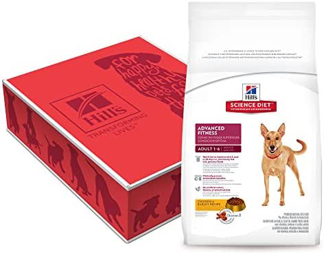 Hill'S Science Diet Adult Advanced Fitness Chicken & Barley Recipe Dry Dog Food, 38.5 Lb Bag