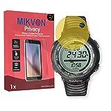 Lámina de protección Mikvon Privacy amarillo contra miradas laterales para Suunto Vector - PREMIUM QUALITY