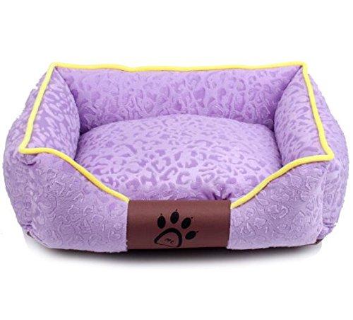 prezzi eccellenti Happy- little -bear Rimovibile e Lavabile Lavabile Lavabile Cat Nest Pet Supplies per Animali Domestici Tappetini per Cani Viola  risposte rapide