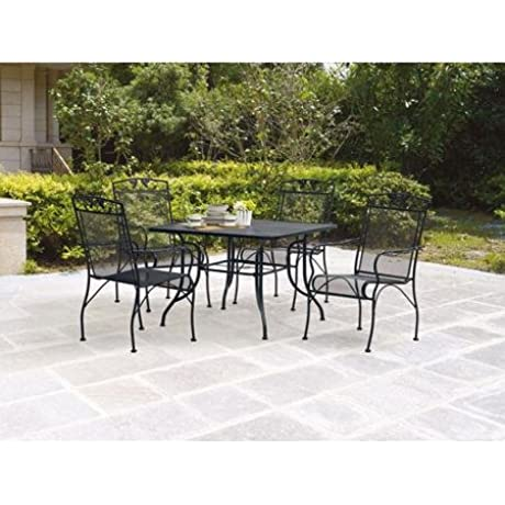 Mainstays Jefferson 5 Piece Patio Dining Set Seats 4