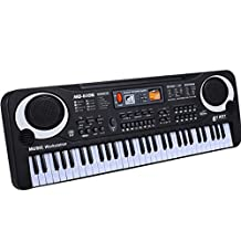 Alizzee Kids 61 Keys Electronic Organ Digital Music Piano Keyboard Toys, Mini Child Early Education Music Electronic Organ, Intelligence Kids Key Board Piano Gift for 2-15 years children