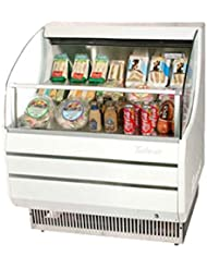 Turbo Air TOM30S 28 Open Display Merchandiser with Modern Design Environmental Friendly Refrigeration System Glass Sides Anti-Rust Coating High Density PU Insulation and Improved Air Flow: