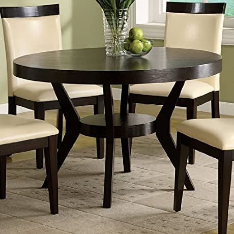 Furniture Of America CM3423T Downtown I Pedestal Dining Table