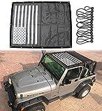 Sukemichi Jeep TJ Durable Mesh Sunshade Bikini Top