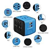 HAOZI Universal Travel Adapter, All-in-one
