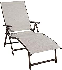pool lounge chairs. Kozyard Cozy Aluminum Beach Yard Pool Folding Reclining Adjustable Chaise Lounge Chair (Beige) Chairs