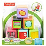 Fisher-Price Silly Safari Stackin' Sensory Blocks