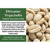 Ethiopian Yirgacheffe - Unroasted (Green) Washed Ethiopia Coffee (1 Kg)