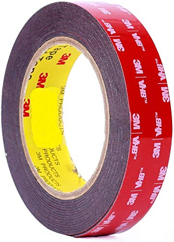 """3m 1"""" (25mm) X 9 Ft VHB Double Sided Foam Adhesive"""