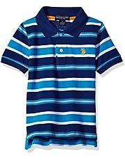 U.S. POLO ASSN. Boys' Classic Striped Polo Shirt
