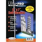 "Ultra Pro 5"" x 7"" Soft Sleeves (100)"