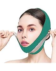 Jannyshop Afslankband voor het gezicht Afvallen op het gezicht Slanker apparaat V-vormige lijn Chin-up Face Lift Dubbele kinriem, Face Shaper-band elimineert rimpels doorzakken