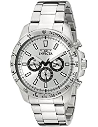 Men's 20336 Speedway Stainless Steel Watch with Link Bracelet