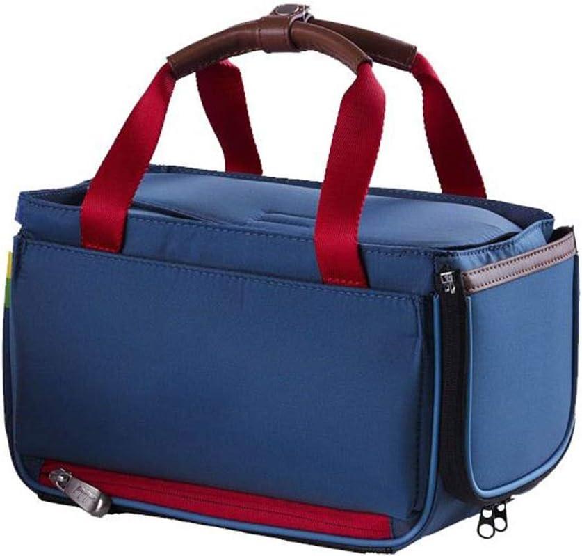 LLKOZZ ゴルフウェアバッグ、多機能トートバッグ、軽量でポータブル、マルチカラーオプション (Color : 青) 青