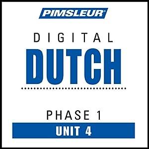 Dutch Phase 1, Unit 04 Audiobook