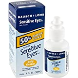 Bausch + Lomb Sensitive Eyes Daily Cleaner, 1 Ounce Bottle