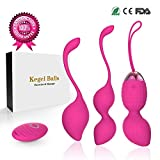 2 in 1 Kegel Exercise Weights & Massage ball Ben Wa Balls Kegel Balls Beginners & Pleasure —Bladder Control & Strengthen Your Pelvic Floor Muscle